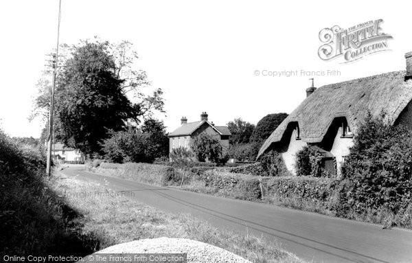 Photo of Alderholt, Fordingbridge Road c.1960