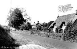 Alderholt, Fordingbridge Road c.1960
