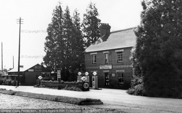Photo of Alderholt, Garage c.1960