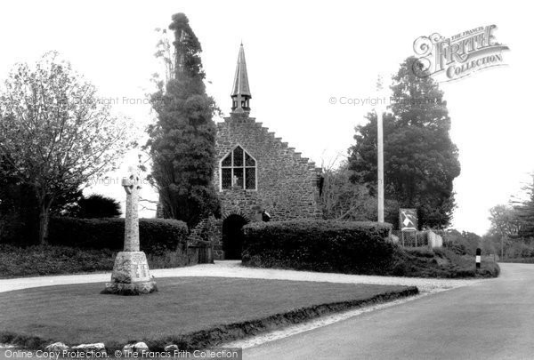 Photo of Alderholt, Memorial And St James' Church c.1960