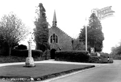 Alderholt, Memorial And St James' Church c.1960