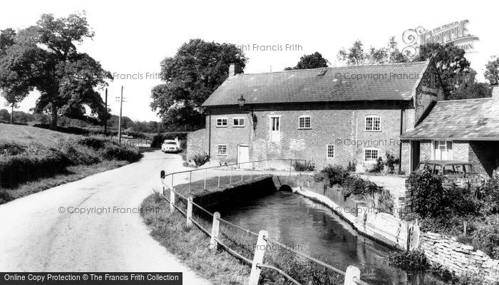 Alderholt, the Mill c1960
