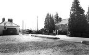 Alderholt, the Post Office c1960