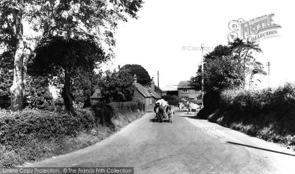 Alderholt, the Village c1960