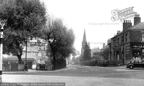 Alderley Edge, Chapel Road c.1955