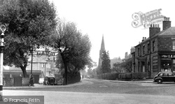 Alderley Edge, Chapel Road c.1955