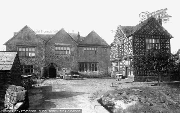 Photo of Alderley Edge, Chorley Hall 1896