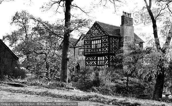 Photo of Alderley Edge, Chorley Hall c1955