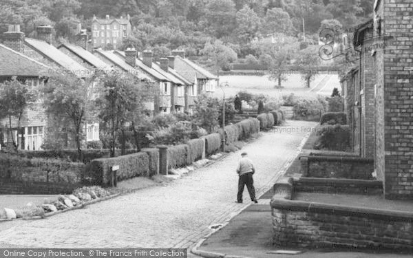 Photo of Alderley Edge, Duke Street Houses c.1960