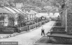 Alderley Edge, Duke Street Houses c.1960