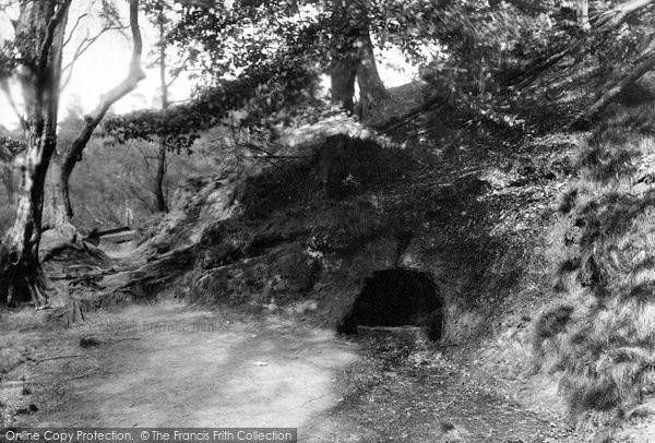 Photo of Alderley Edge, Holy Well 1896