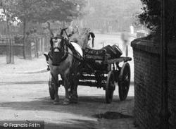 Alderley Edge, Horse And Cart 1896