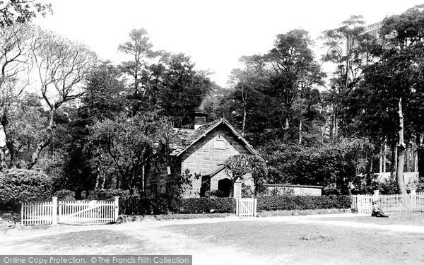 Photo of Alderley Edge, Keeper's Cottage 1896