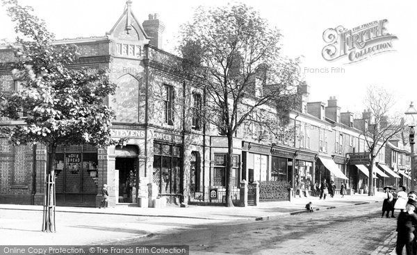 Photo of Alderley Edge, London Road 1896