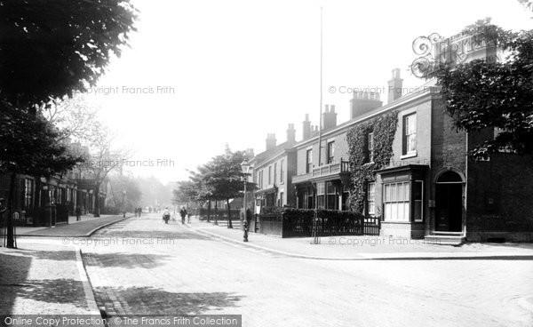Alderley Edge, London Road 1896