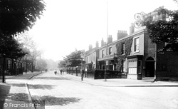 Alderley Edge, London Road 1896
