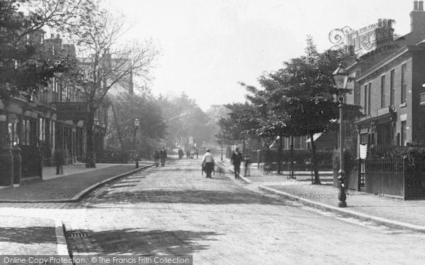 Photo of Alderley Edge, London Road 1896