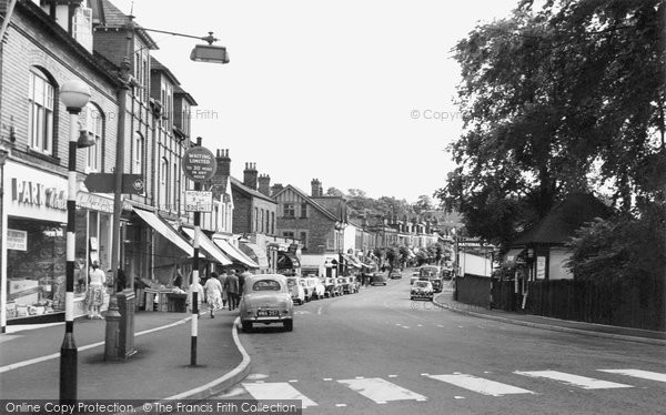 Photo of Alderley Edge, London Road 1960