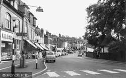 Alderley Edge, London Road 1960