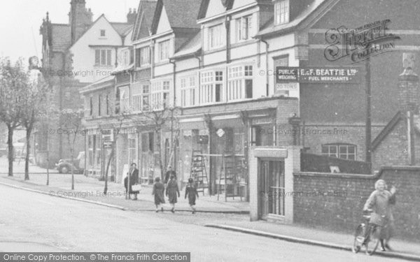 Photo of Alderley Edge, London Road c.1955