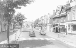 Alderley Edge, London Road c.1960