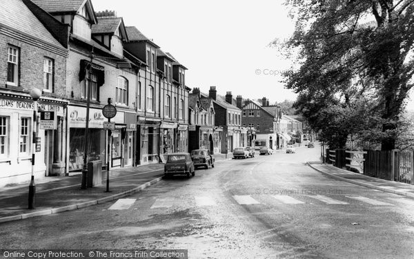 Photo of Alderley Edge, London Road c1965