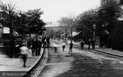 Alderley Edge, London Road, The Public 1896