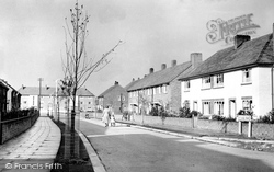 Alderley Edge, New Estate c.1955