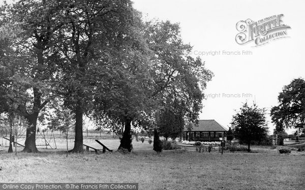 Photo of Alderley Edge, Playing Fields c.1955