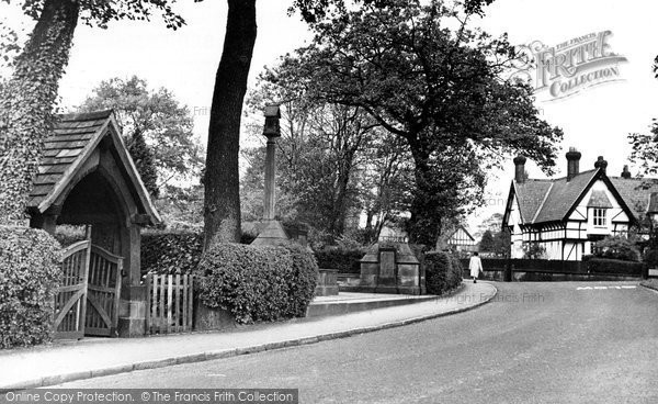 Photo of Alderley Edge, Ryleys Lane c.1955