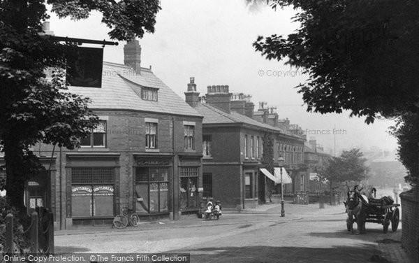 Photo of Alderley Edge, Shop In London Road 1896