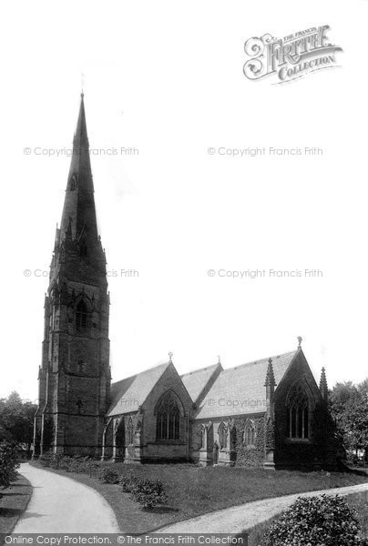 Photo of Alderley Edge, St Philip And St James Church 1896