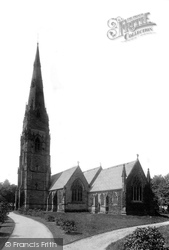 Alderley Edge, St Philip And St James Church 1896