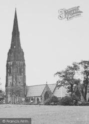 Alderley Edge, St Philip's Church c.1955