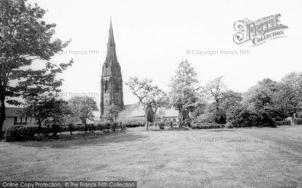 Alderley Edge, St Philip's Church c.1960