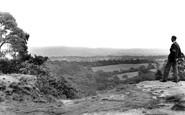 Alderley Edge, Stormy Point c1955