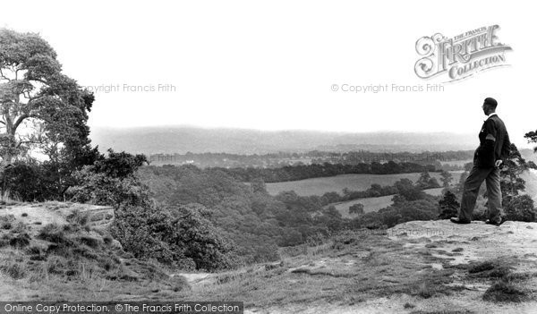 Photo of Alderley Edge, Stormy Point c1955