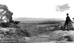 Alderley Edge, Stormy Point c.1955