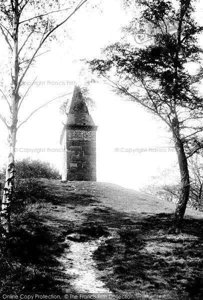 Alderley Edge, The Beacon 1896
