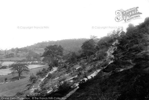 Photo of Alderley Edge, The Edge 1896