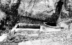 Alderley Edge, The Holy Well 1896