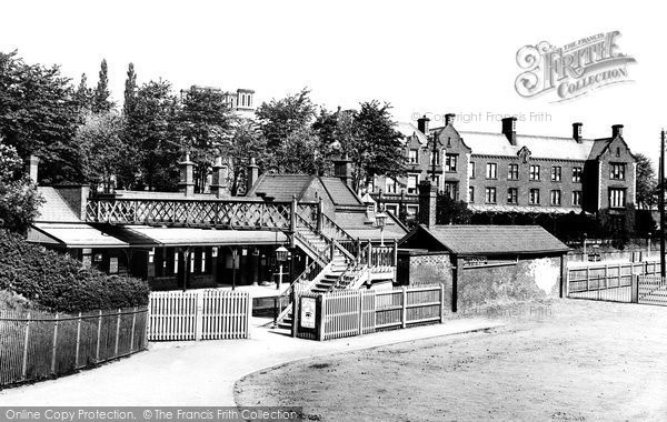 Alderley Edge, The Railway Station 1896