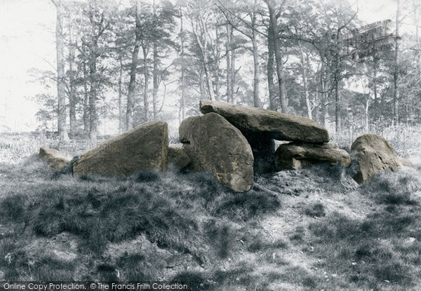Photo of Alderley Edge, The Stone Table Of The Wizard 1896