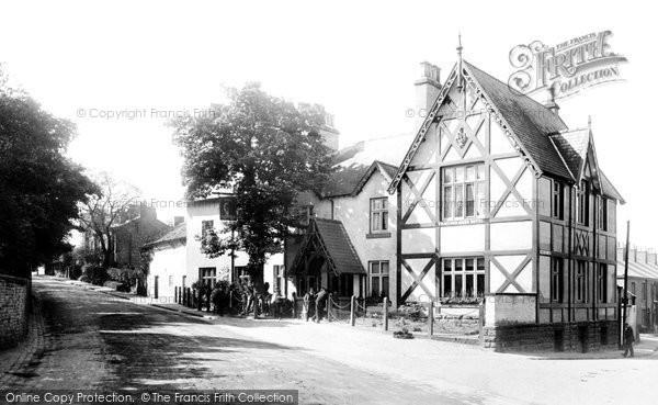 Alderley Edge, the de Trafford Arms Hotel 1896