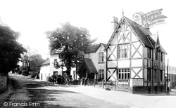 Alderley Edge, The Trafford Arms Hotel 1896