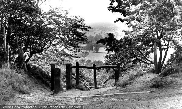 Photo of Alderley Edge, The View From The Edge c.1955