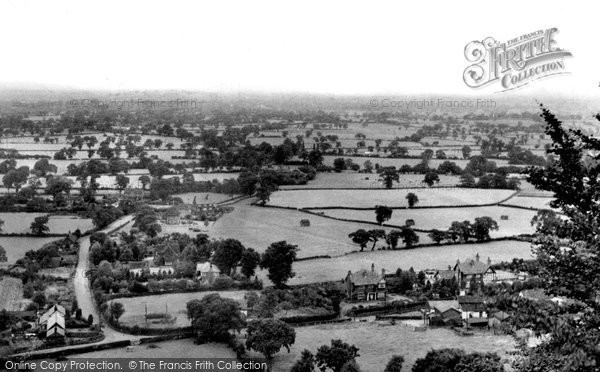 Photo of Alderley Edge, View From Castle Rock c.1955