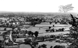 Alderley Edge, View From Castle Rock c.1955