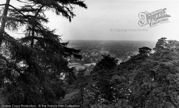 Photo of Alderley Edge, View From The Woods c.1955