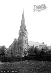 Alderley Edge, Wesleyan Chapel 1896